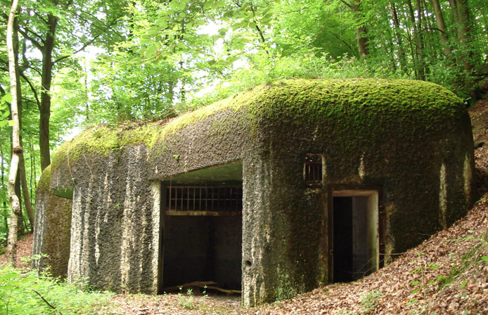 Blockhouse Maginot Sedan France