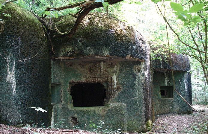 Blockhouse Maginot Sedan Aredennes, France