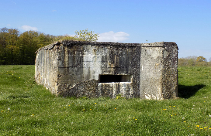 Blockhouse Maginot Line Sedan France