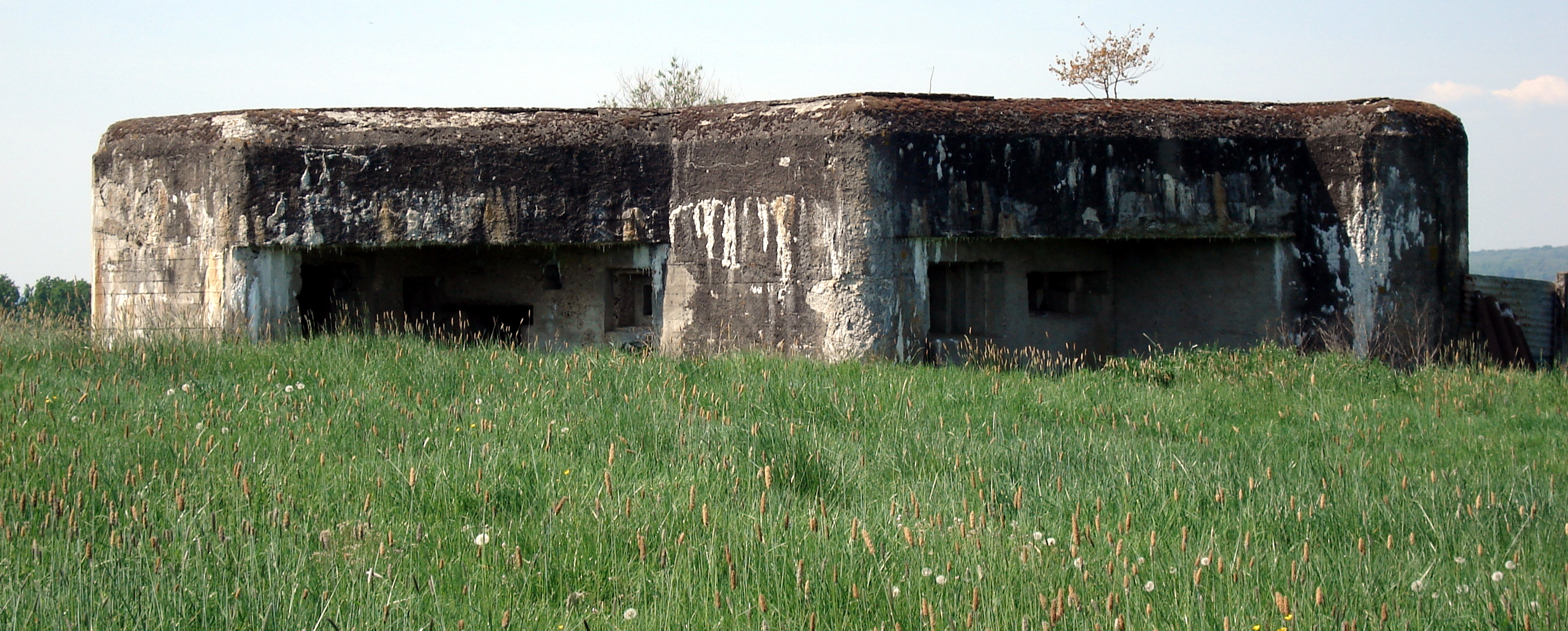 Maginot Blockhouse, Sedan Ardennes France