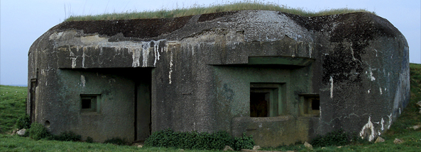artillary Blockhouse Maginot Line, Sedan Ardennes France